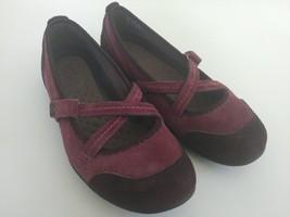 Privo Clarks Womens 8.5 M Mary Jane Slip On Ballet Flats Slide Loafers S... - $28.04