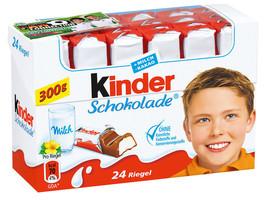 Ferrero Kinder Chocolate 24 bars/300gg -Made in Germany - $10.40