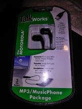 MOTOROLA TalkWorks Headphones + Data Cable - $5.18 CAD