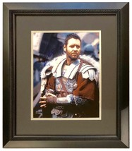 RUSSELL CROWE AUTOGRAPHED SIGNED 11X14 FRAMED GLADIATOR PHOTO FANTASTIC!... - $275.00