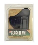"""NIB Blackhawk! Holster Nylon Inside the Pants Right Black 2-3"""" Double Ac... - $28.71"""