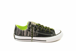 Converse Younger CTAS OX 654219C Sneakers Bold Lime Black Size EU 31.5 - $49.48