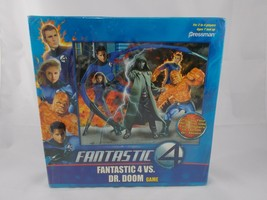 Fantastic 4 Vs Dr Doom Board Game Pressman 2005 - $7.35