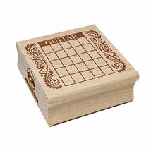 Guitar Chord Chart Square Rubber Stamp for Stamping Crafting - 1.25in Small - $5.99