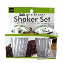 Crystal Look Salt & Pepper Shaker Set - £4.46 GBP
