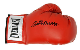 Roberto Duran Signed Everlast Red Boxing Glove - $120.00