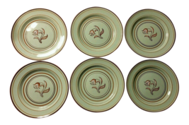 Franciscan Ware Padua Celadon Plates - Set of 6 - $80.19