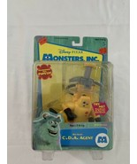 2001 Hasbro Disney Monsters Inc CDA Agent Sound & Pop Up Action Figure N... - $47.49