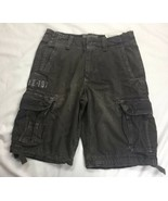 New American Eagle Outfitters Cargo Shorts Drawstring Leg Longer Length ... - $28.04