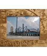 Galveston Texas Laser Engraved Wood Picture Frame (5 x 7) - $28.41