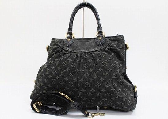 164b2ae3dd061 Authentic Louis Vuitton Monogram Denim