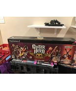 Guitar Hero Aerosmith Limited Edition Bundle COMPLETE PlayStation 2 PS2 ... - $55.17