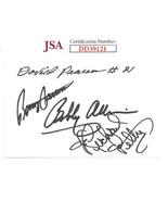NASCAR Legends Bobby Allison/David Pearson/Richard Petty/Benny Parsons s... - $74.95