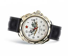 VOSTOK KOMANDIRSKIE. Men`s Russian solder military mechanical watch. 219823 - $26.50