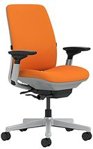 Steelcase Amia Chair with Platinum Base & Standard Carpet Casters, Tange... - $693.01