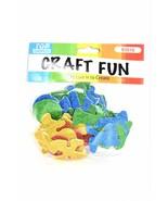 Glitter Letters Design EVA Foam Stickers, 52 ct. - $3.00