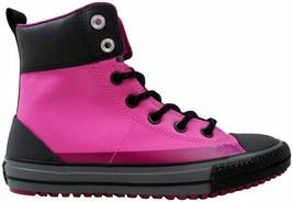 Converse Chuck Taylor Asphalt Boot Dahlia Pink 650006C Grade-School Size 3Y - $13.84