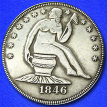 "Lady Liberty on the Pot ""Hobo Nickel"" on Morgan Dollar Coin ** - $4.79"