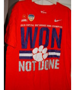 The Nike Tee 2015 Capital One Orange Bowl Champions Won Not Done T-Shirt... - $12.00