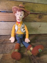 "WOODY Toy Story Cowboy Andy Disney Plush 20"" Toy  - $14.84"