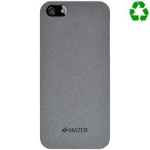 Amzer Organics Snap On Shell Case for iPhone 5 5S - Slate - $9.39