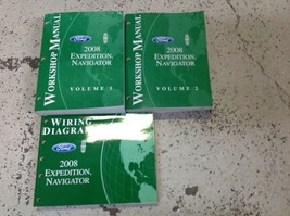 2008 Ford Expedition Lincoln Navigator Repair Service Shop Manual Set W ... - $98.99