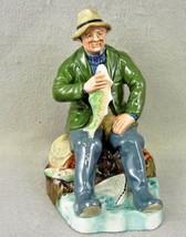 Vintage Royal Doulton Figurine  Fisherman Figurine A Good Catch   HN 2258 - $80.00