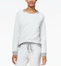 Alfani Intimates Gray quilted Long sleeve Top  S - $15.50