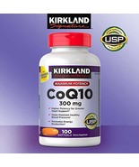 Kirkland Signature Expect More CoQ10 300 mg, 100 Softgels - $30.87