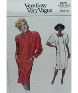 Vogue Sewing Pattern 9376 Misses Dress Size 6 8 10 Vintage - $14.50