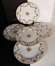 Mikado ALOHA Dinner Plate (s) LOT OF 5 Occupied Japan Floral Swags - $24.70