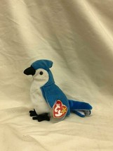 Beanie Baby Rocket the Blue Jay With Tag and Tag Protector TY 1997 - $9.80