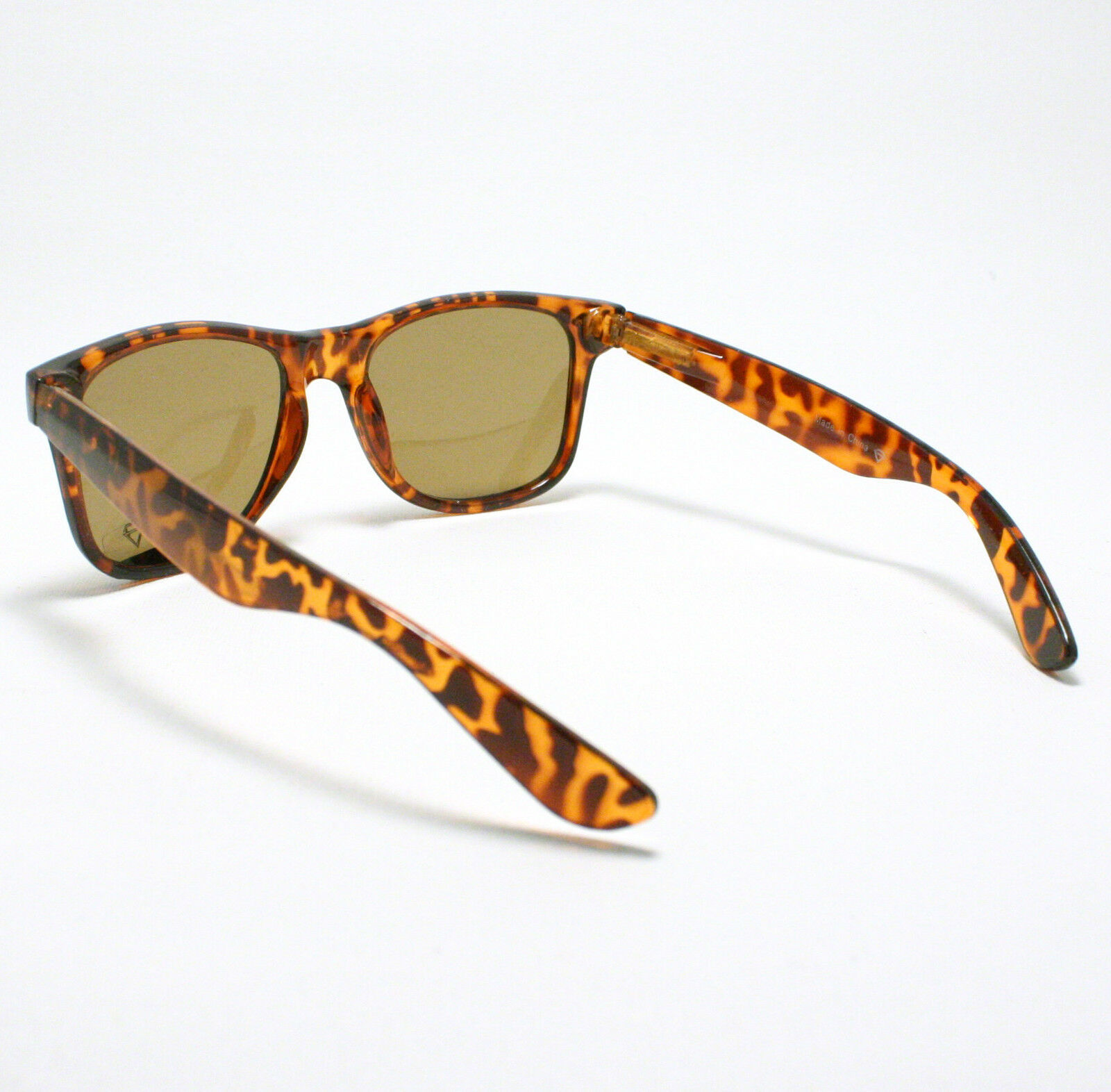 80's Classic Vintage OLD SCHOOL Sunglasses TURTLE SHELL image 4