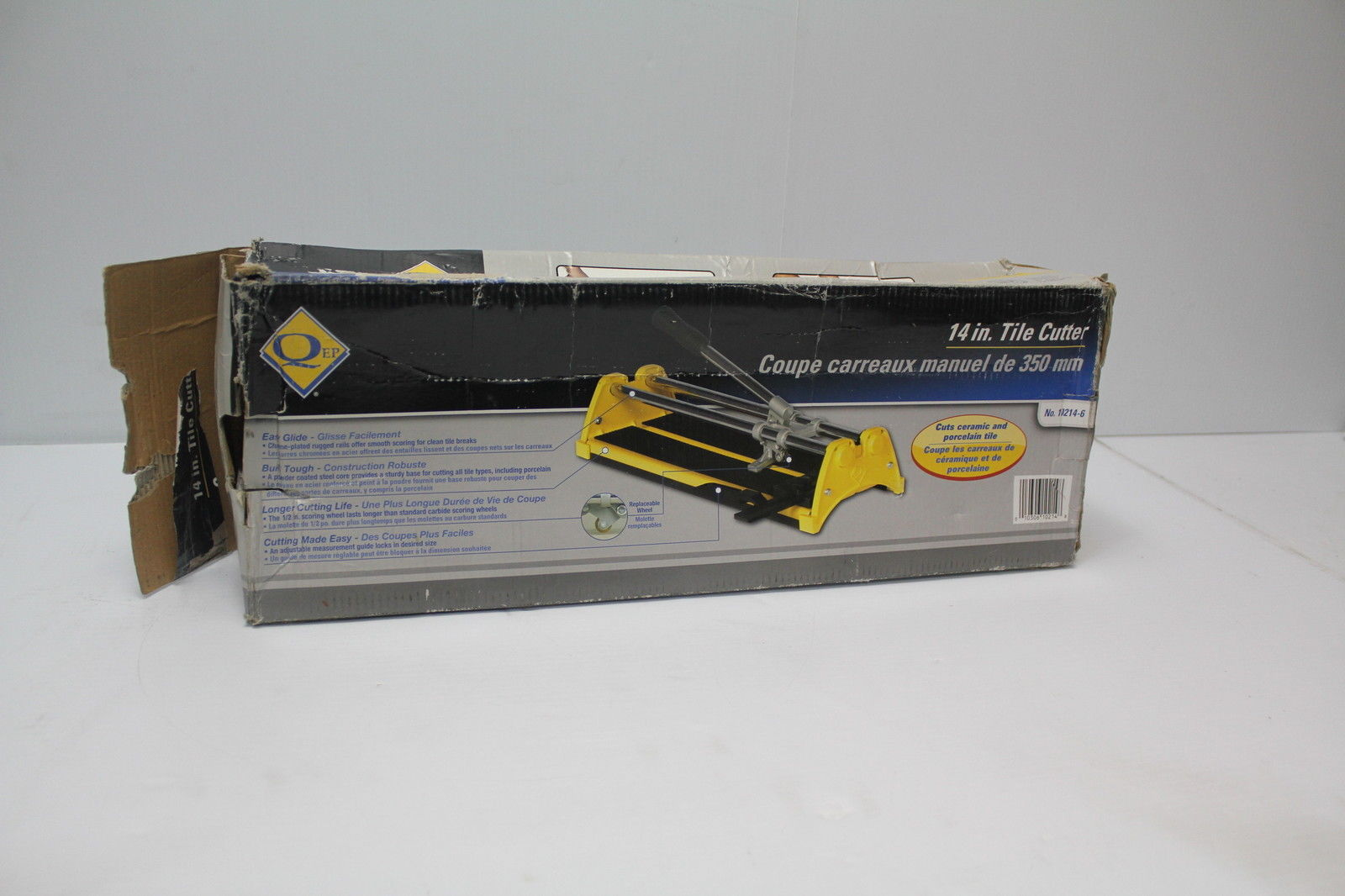 "Primary image for QEP 10214-6 14"" Tile Cutter Used"