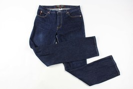 Vintage 90s Guess Herren 31x32 Low Rider Slim Fit Spell Out Jeans Blau - $37.09