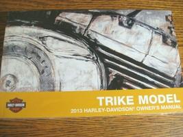 2013 Harley-Davidson Trike Tri Glide Owner's Owners Manual FLHTCUTG NEW - $87.12