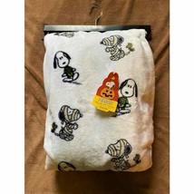 Snoopy Halloween Plush Throw Blanket. Throw - $30.79