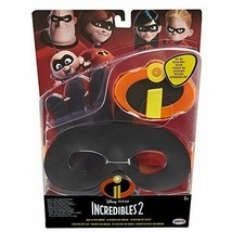 Disney Pixar Incredibles 2 Gear Set W/ Light Up Emblem New Factory Sealed JAKKS - $11.82