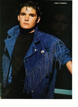 Mackenzie Astin Corey Felman teen magazine pinup clipping cowboy vest  jacket