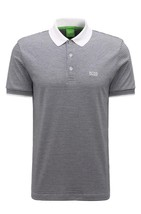 Hugo Boss Men's Luxury Cotton Polo Shirt T-shirt Regular Fit Paddos 50369736 100