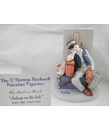 Norman Rockwell Asleep on the Job Figurine - $41.13