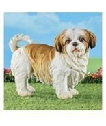 Shih Tzu Outdoor Resin Statue Figure (col) J7 - $128.69