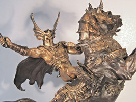 Franklin Mint Bronze Nightmare's Bane by Brom Figurine Statue - $480.15