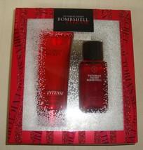 Victorias Secret Bombshell Intense Body Mist & Lotion 2 Pieces Gift Set New - $24.74