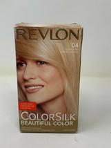 Revlon Color Silk 04 Hair Dye Ultra Light Natural Blonde Hair Color Permanent  - $12.86