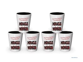 I'm Audiologist shot glass- Not a Miracle Worker -Audiologist Gifts (6) - €24,95 EUR
