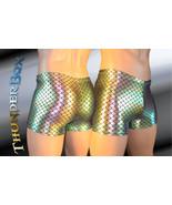 Merman Metallic Reflections Green/Gold Spandex Mens, Womens Gladiator Sh... - $25.00