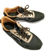 Asics forest orange trail runners slightly used - $25.00