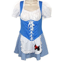 Leg Avenue Sexy Dorothy Wizard of Oz Dress Women Juniors Size S Toto Dog - $19.76