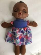 Hasbro Baby Alive Lil Slumber Doll 2016 Soft Cloth Body African American... - $19.79
